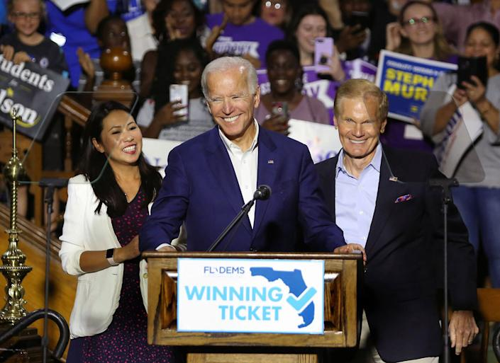 Biden's strategy is informed by Democratic defeats in Florida in 2018, when Sen. Ben Nelson (D) lost his seat as Republican candidates exceeded expectations with Puerto Rican voters and ran up huge margins with Cubans.  (Photo: Joe Burbank/Orlando Sentinel/Tribune News Service via Getty Images)