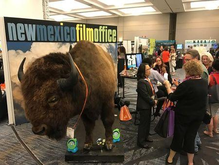 The New Mexico Film Office touts its production incentives at a conference hosted by the Association of Film Commissioners International in Burbank