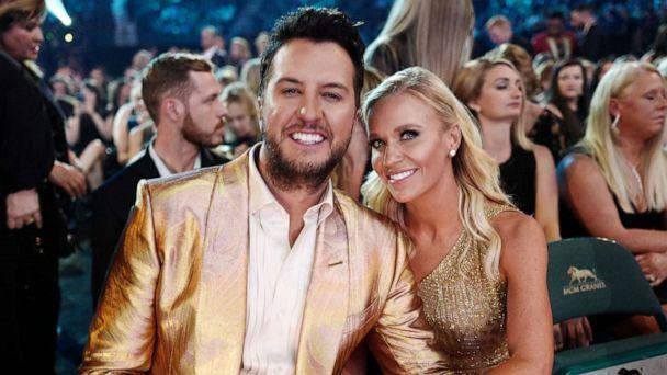 PHOTO: Luke Bryan and Caroline Boyer attend the 54th Academy Of Country Music Awards at MGM Grand Garden Arena on April 07, 2019, in Las Vegas. (John Shearer/Getty Images, FILE)
