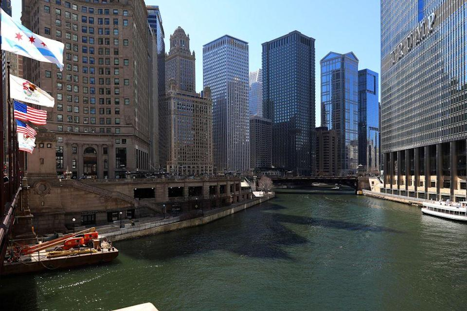 """<p>With sewage flowing from Chicago into Lake Michigan, a drinking water source for the growing region, the city was facing a health crisis due to waterborne diseases. However, engineers discovered they could dig the Chicago Sanitary and Ship Canal to help reverse the river's flow, <a href=""""https://www.chicagoline.com/blog/chicago-river-reversal/"""" rel=""""nofollow noopener"""" target=""""_blank"""" data-ylk=""""slk:moving polluted water"""" class=""""link rapid-noclick-resp"""">moving polluted water</a> away from the lake and sending it towards St. Louis.</p>"""