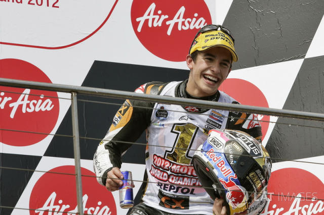 "<b>#18</b> 328 - Marc Márquez, 2012 (Moto2) <span class=""copyright"">Gold and Goose / Motorsport Images</span>"