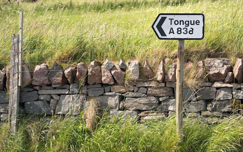 Tongue in Sutherland, northern Scotland - Getty