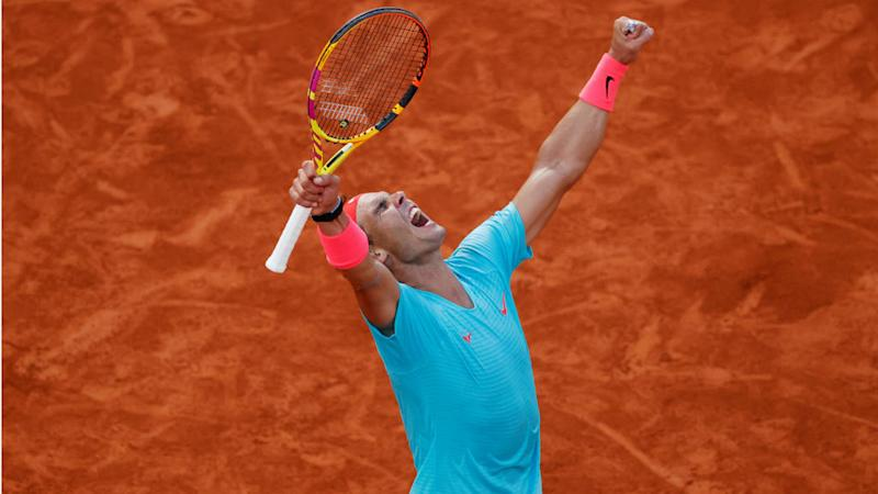 Nadal reaches 13th French Open final, will face Djokovic in bid to tie Grand Slam record