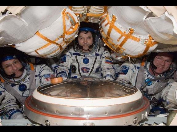 Space Station Crew to Return to Earth Sunday