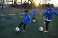 China's dream of becoming powerhouse depends on millions of children taking up the sport, but many parents view the game as a wasteful distraction from school (AFP Photo/Greg Baker)