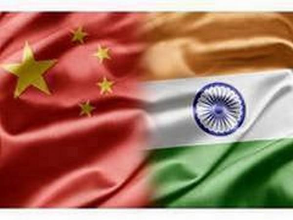 China and India flags.
