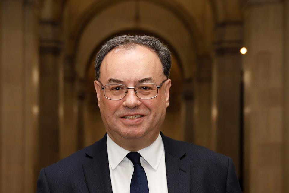 Bank of England Governor Andrew Bailey. Photo: Reuters