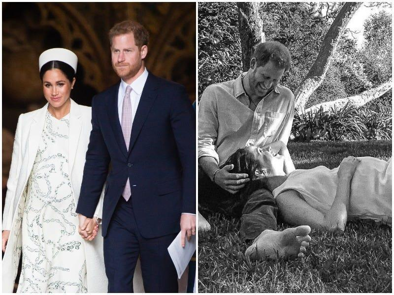 meghan markle prince harry then and now