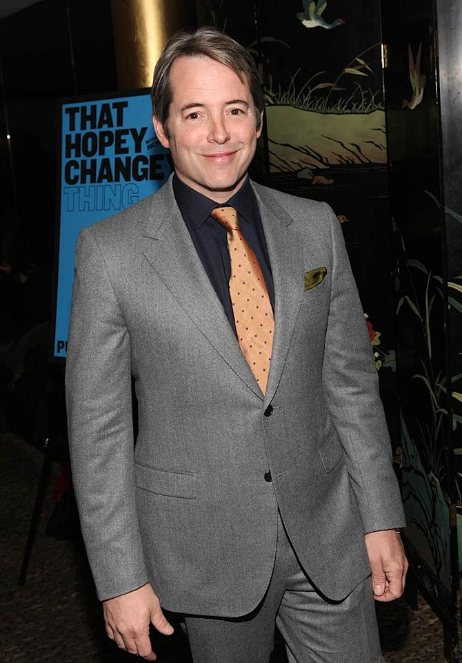 "March 21: Matthew Broderick turns 49 Bennett Raglin/<a href=""http://www.wireimage.com"" target=""new"">WireImage.com</a> - November 2, 2010"