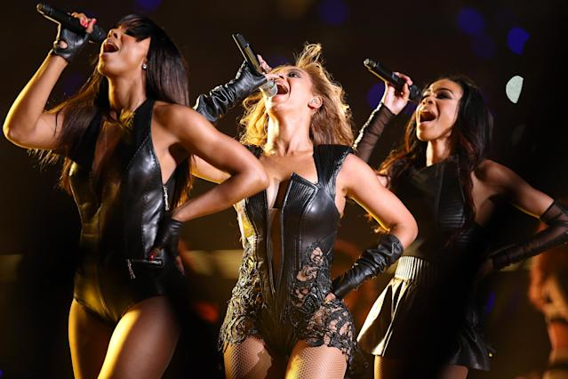 <p>Group or duo with the most consecutive weeks on the Hot 100 (139). (Photo: Christopher Polk/Getty Images) </p>