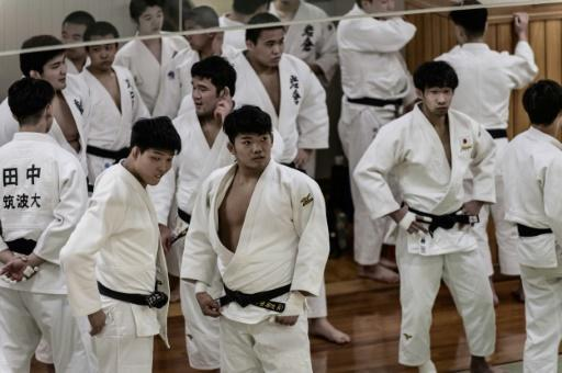 Judokas attend weekly freestyle practice sessions at the Kodokan
