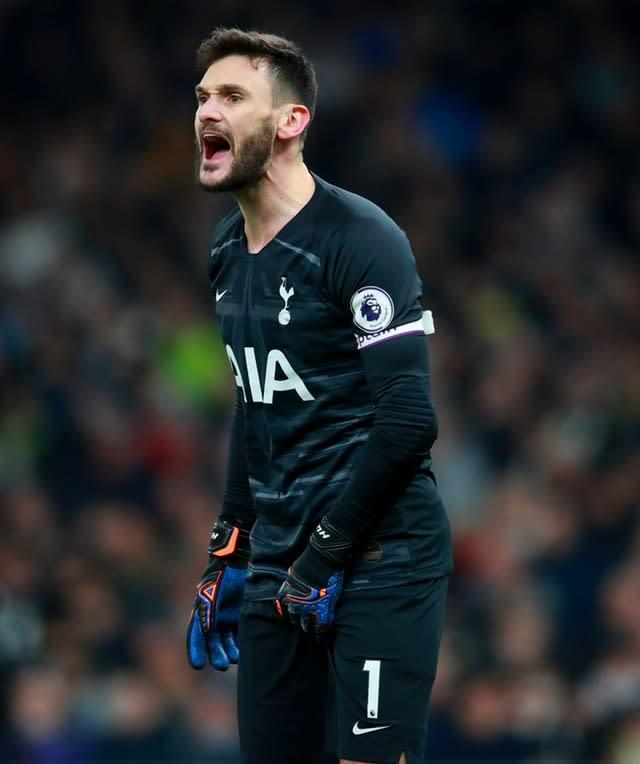 Hugo Lloris returned from injury (Adam Davy/PA)
