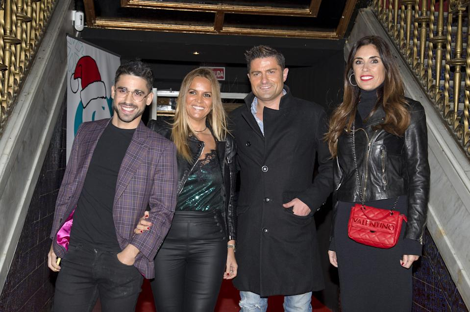 MADRID, SPAIN - NOVEMBER 29: (L-R) Miguel Frigenti, Marta Lopez, Alfonso Merlos and Isabel Rabago are seen on November 29, 2019 in Madrid, Spain. (Photo by Europa Press Entertainment/Europa Press via Getty Images)