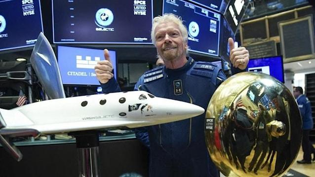 Virgin Galactic to sell shares after Branson space trip