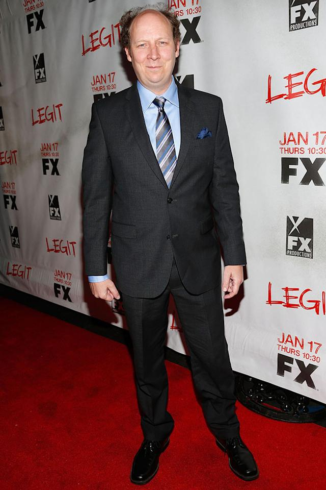"Dan Bakkedahl attends the screening of FX's new comedy series ""Legit"" on January 14, 2013 in Los Angeles, California."