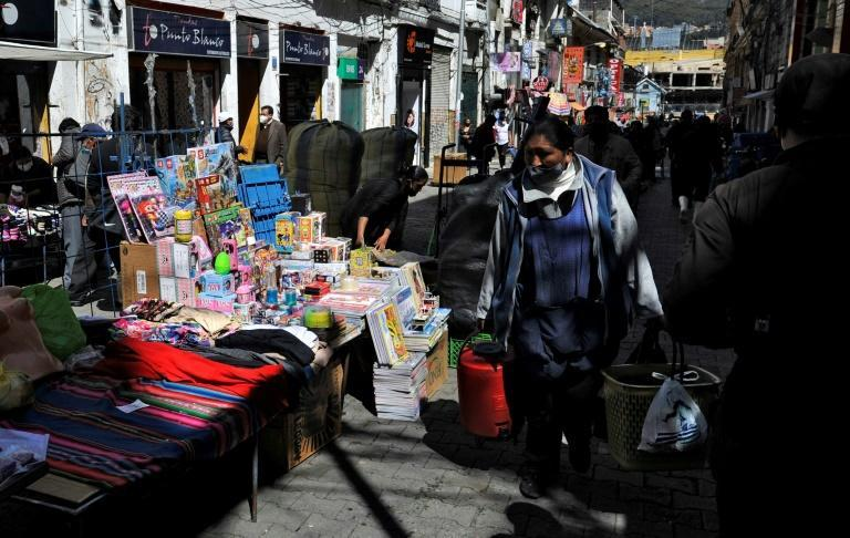 Activity resumes in La Paz on October 19, 2020 a day after Bolivia's presidential election