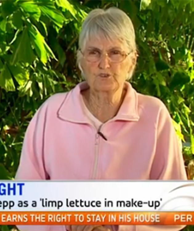 Mary on Sunrise. Photo: Channel Seven