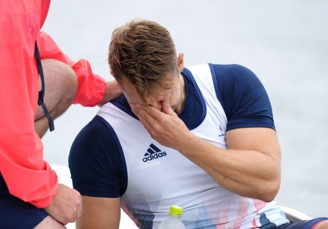 Great Britain's Robert Oliver shed tears in Tokyo