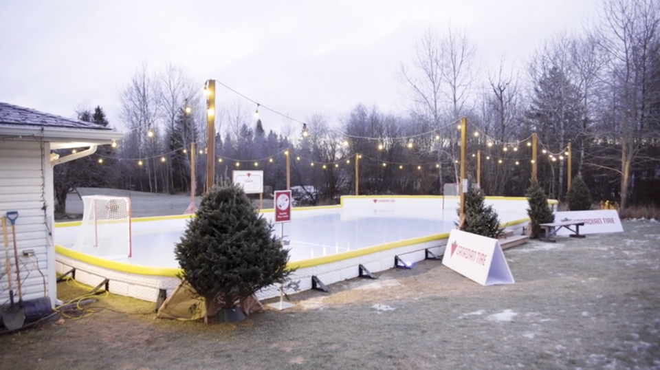 How to build an incredible backyard rink