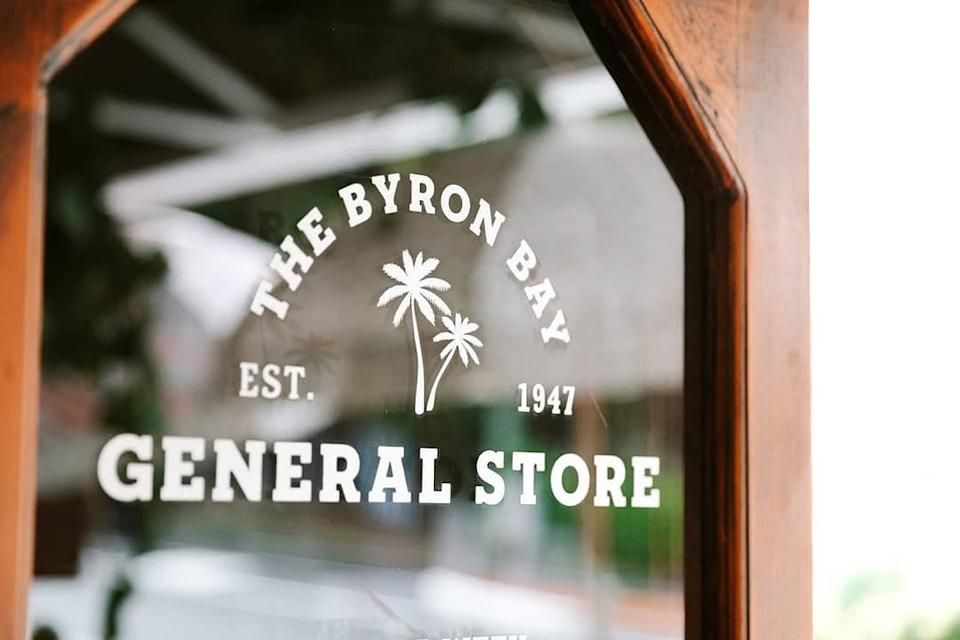 The Byron Bay General Store sign