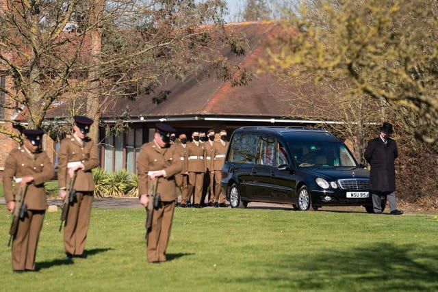 Captain Sir Tom Moore funeral