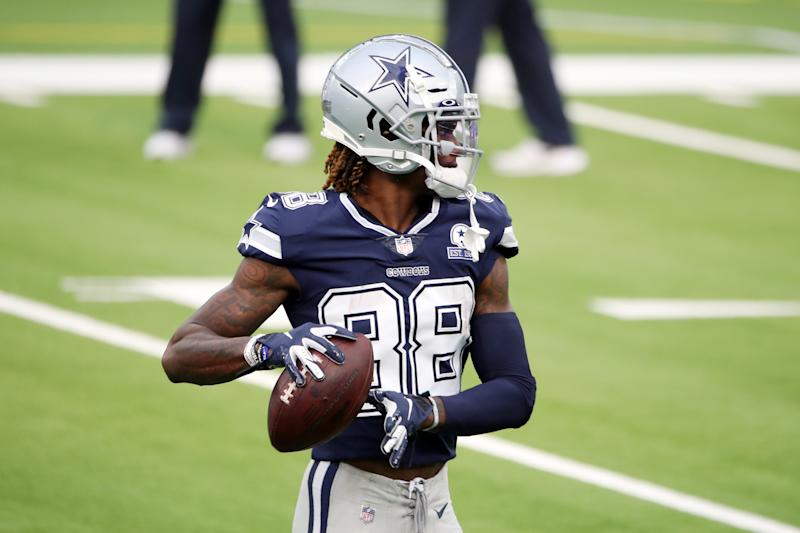 CeeDee Lamb #88 of the Dallas Cowboys