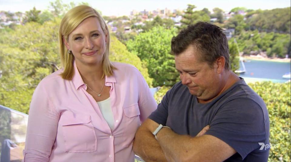 Jason Hodges tears up on his final episode of Better Homes and Gardens alongside co-star Joh Griggs