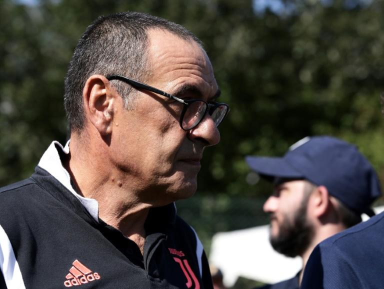 Maurizio Sarri missed Juventus's first two matches because of pneumonia