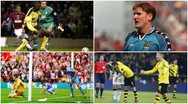 On this day in 1998, Jamie Pollock netted one of the great oggies of English football for Manchester City against QPR. Theres nothing quite asignominous in football, but as Greg Lea discovers, some culprits are much worse than others