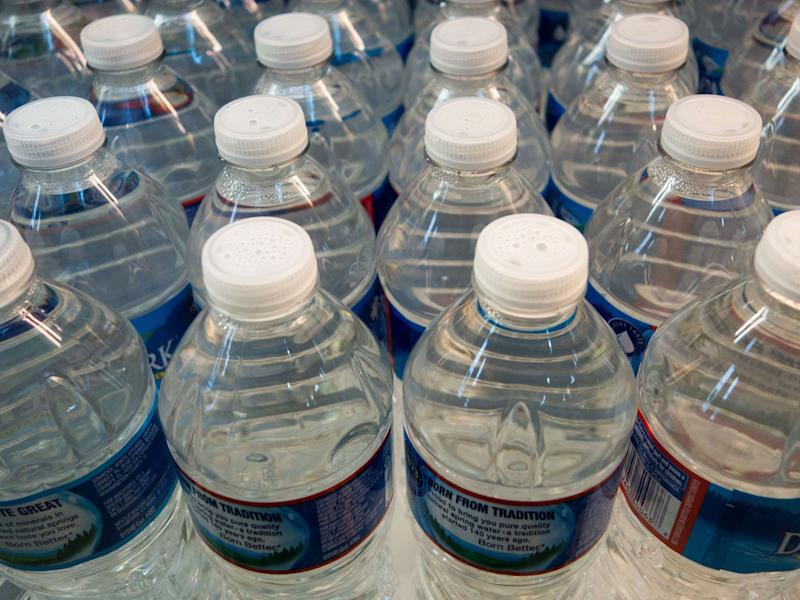 Bottled water has been increasing in price in India: PAUL J. RICHARDS/AFP/Getty Images