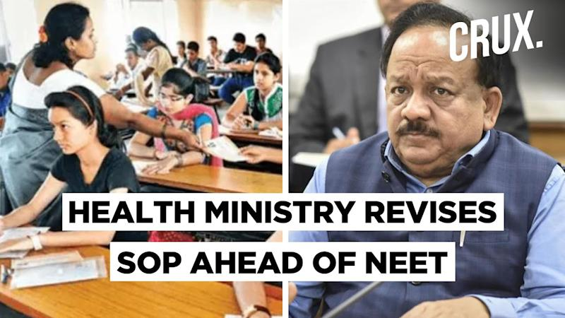 NEET SOP: Exam In Containment Zone Not Allowed By Health Ministry