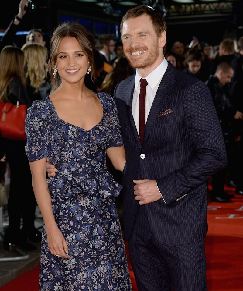 In Love in London for the Premiere of The Light Between Oceans