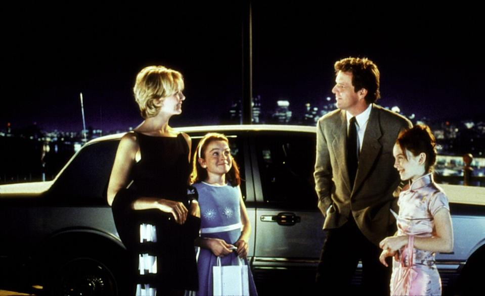 """<p>If you prefer the childhood nostalgia that comes with watching the 1998 <strong><a class=""""link rapid-noclick-resp"""" href=""""https://www.popsugar.co.uk/tag/The-Parent-Trap"""" rel=""""nofollow noopener"""" target=""""_blank"""" data-ylk=""""slk:The Parent Trap"""">The Parent Trap</a></strong>, then you're in luck, because Disney+ has that version, too. Watch as Lohan's Hallie and Annie concoct a brilliant plan to make their mom and dad reunite. </p> <p><a href=""""https://www.disneyplus.com/movies/the-parent-trap-1998/5LsTU243zQ0B"""" class=""""link rapid-noclick-resp"""" rel=""""nofollow noopener"""" target=""""_blank"""" data-ylk=""""slk:Watch The Parent Trap on Disney+ now."""">Watch <strong>The Parent Trap</strong> on Disney+ now.</a></p>"""