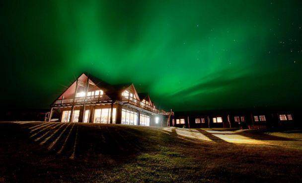 PHOTO: Hotel Rangá is located in the Icelandic countryside, far away from most light pollution. (Hotel Rangá)