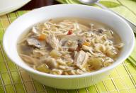 """<p>You won't eat instant ramen again after making this soup. Use a slow cooker to prepare a savory broth using <a href=""""https://www.thedailymeal.com/cook/24-ways-turn-yesterday-s-food-scraps-tomorrow-s-dinner-slideshow?referrer=yahoo&category=beauty_food&include_utm=1&utm_medium=referral&utm_source=yahoo&utm_campaign=feed"""" rel=""""nofollow noopener"""" target=""""_blank"""" data-ylk=""""slk:vegetable scraps"""" class=""""link rapid-noclick-resp"""">vegetable scraps</a> before adding the noodles. Feel free to swap the pork for chicken breast.</p> <p><a href=""""https://www.thedailymeal.com/best-recipes/slow-cooker-ramen-noodle-soup?referrer=yahoo&category=beauty_food&include_utm=1&utm_medium=referral&utm_source=yahoo&utm_campaign=feed"""" rel=""""nofollow noopener"""" target=""""_blank"""" data-ylk=""""slk:For the Slow Cooker Ramen Noodle Soup recipe, click here."""" class=""""link rapid-noclick-resp"""">For the Slow Cooker Ramen Noodle Soup recipe, click here.</a></p>"""