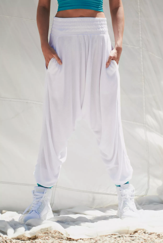 Windy Meadow Solid Harem Pants. Image via Free People.