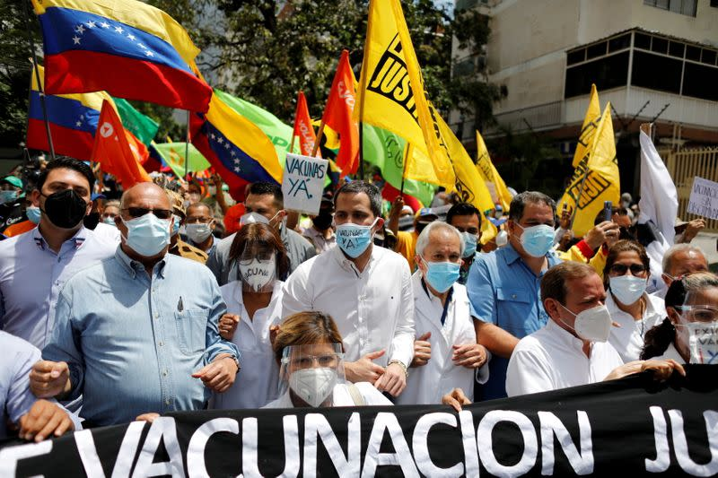 FILE PHOTO: Outbreak of the coronavirus disease (COVID-19), in Caracas