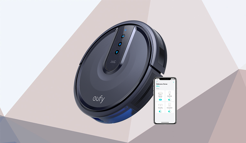 Save 60 percent on the eufy RoboVac 25C Wi-Fi Connected Robot Vacuum. (Photo: Walmart)
