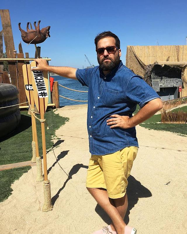 <p>The word is out. @briansacca is the sexiest guy on the island right now. Any takers? #wrecked — @allymaki </p>