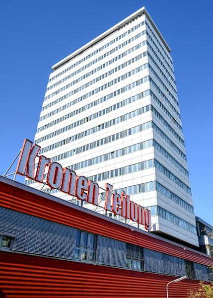 The Kronen Zeitung sells some 700,000 copies in Austria every day, in a country of 8.8 million people (AFP Photo/JOE KLAMAR)