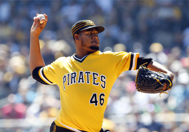 Ivan Nova is going to the White Sox in a trade with the Pirates. (AP)