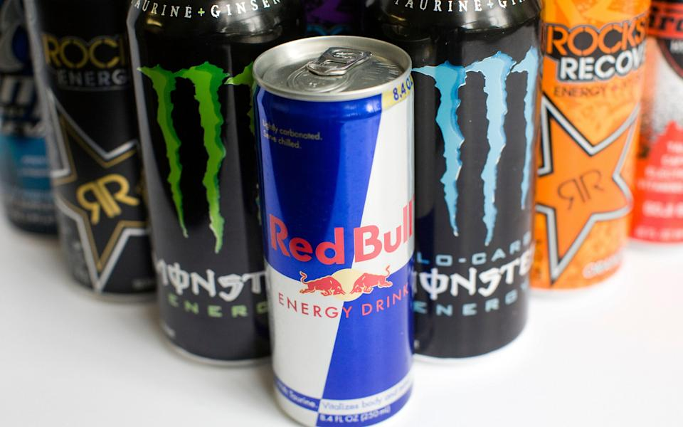Energy drinks should be banned for under 16s say teachers - Credit: Kristoffer Tripplaar / Alamy Stock Photo