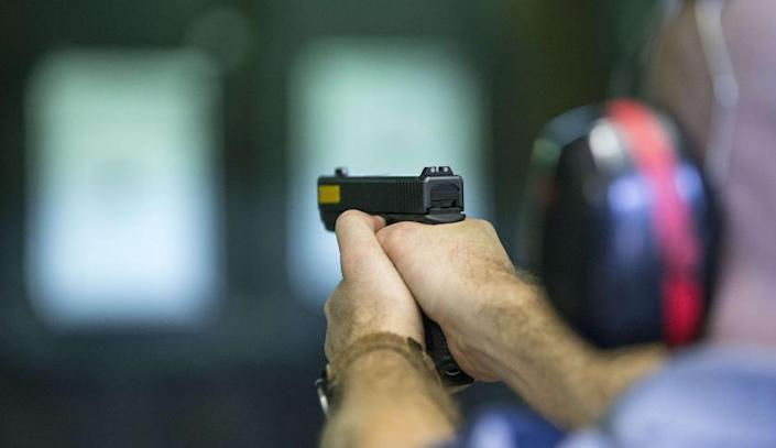 Liberty University's gun range will be the first on-campus, NRA-compliant facility at a U.S. university or college. (Photo: Jack Guez/AFP via Getty Images)