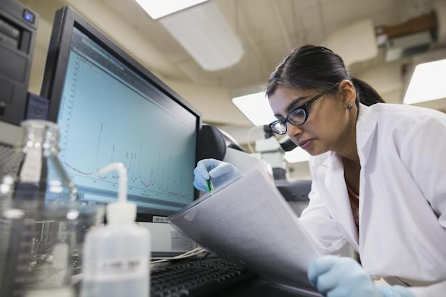 For the second year in a row, data scientists were the #1 best job in America, according to popular site Glassdoor. (Getty Images / Hero Images)