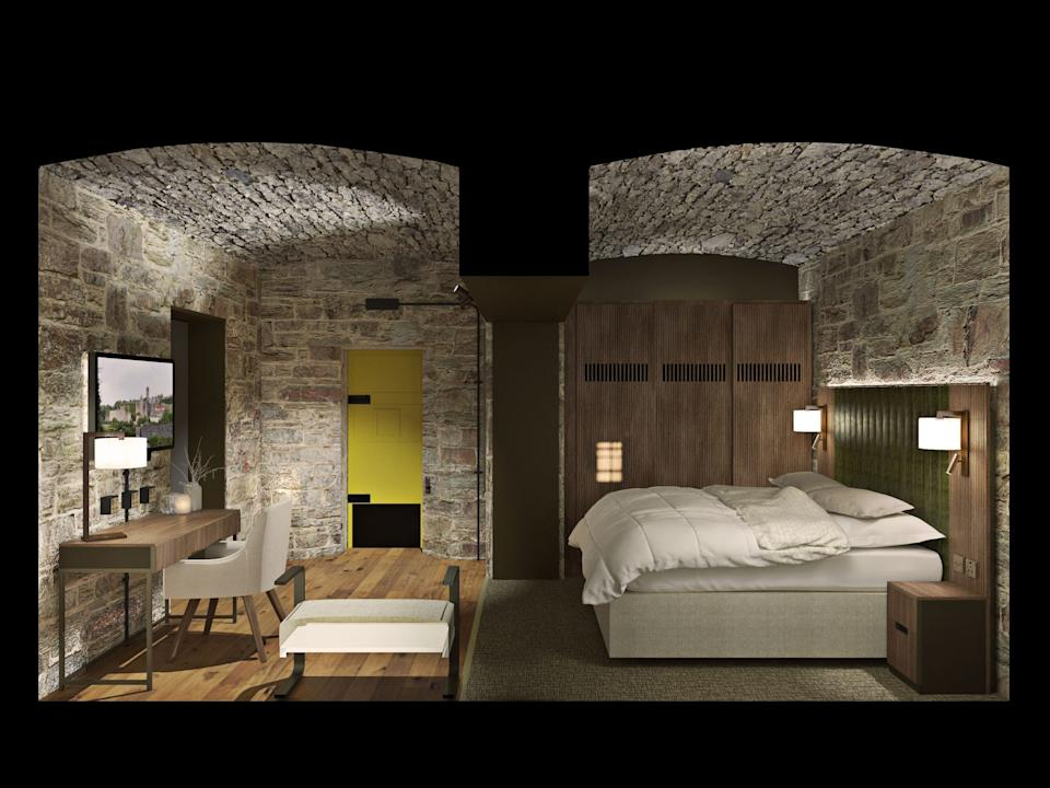 Room Section02 - Bodmin Jail Hotel