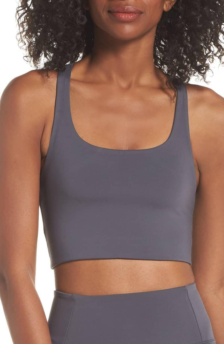 <p>This <span>Girlfriend Collective Paloma Sports Bra</span> ($38) is made of recycled water bottles, so it's a bra you can feel good about and feel good in.</p>