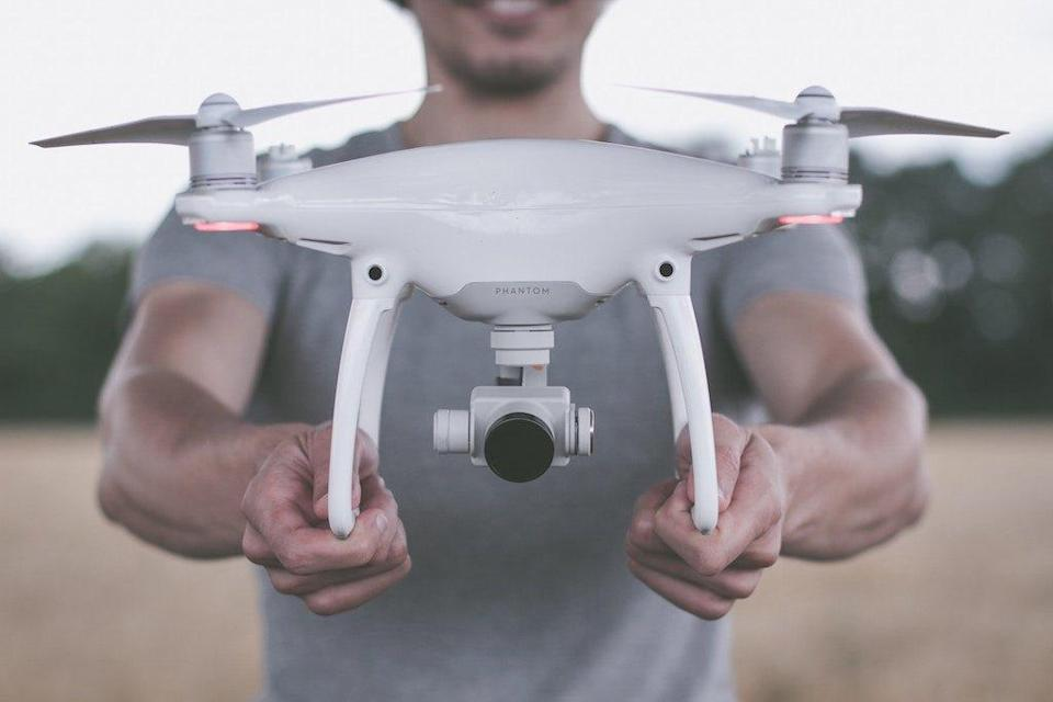 """Flying drones has become a popular pastime for anyone who likes remote control gadgets or aerial photography, but there are those who have taken the high-flying hobby up a notch. <a rel=""""nofollow noopener"""" href=""""https://thedroneracingleague.com/"""" target=""""_blank"""" data-ylk=""""slk:The Drone Racing League"""" class=""""link rapid-noclick-resp"""">The Drone Racing League</a> is an organization for competitors who build custom machines that race while reaching speeds upward of 90 miles per hour. And while it might seem like it's all fun and games, the league's CEO and founder <strong>Nicholas Horbaczewski</strong> told <a rel=""""nofollow noopener"""" href=""""https://www.forbes.com/sites/michaellore/2019/03/07/drone-racing-league-testing-autonomous-technology-for-real-world-use/#1d39fddf6051"""" target=""""_blank"""" data-ylk=""""slk:Forbes"""" class=""""link rapid-noclick-resp""""><i>Forbes</i></a>, """"Since the beginning of the DRL we have known sports are an interesting proving ground for technology. Sports are an incredible crucible, pushing boundaries of speed and performance on a regular basis but doing so in a controlled environment. It allows you to really focus on the innovation of technology, and gives a platform to test and refine it."""""""