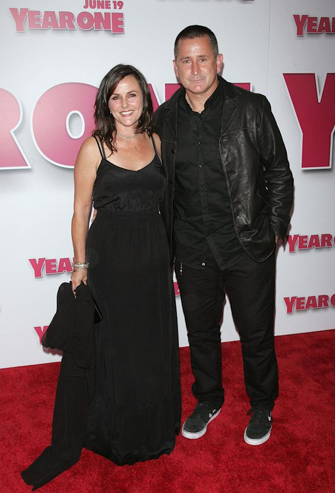 """<a href=""""http://movies.yahoo.com/movie/contributor/1800018681"""">Gia Carides</a> and <a href=""""http://movies.yahoo.com/movie/contributor/1800023968"""">Anthony LaPaglia</a> at the New York premiere of <a href=""""http://movies.yahoo.com/movie/1809981033/info"""">Year One</a> - 06/15/2009"""