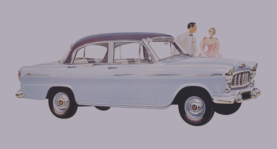 Holden in the 1950s. (Source: Holden)