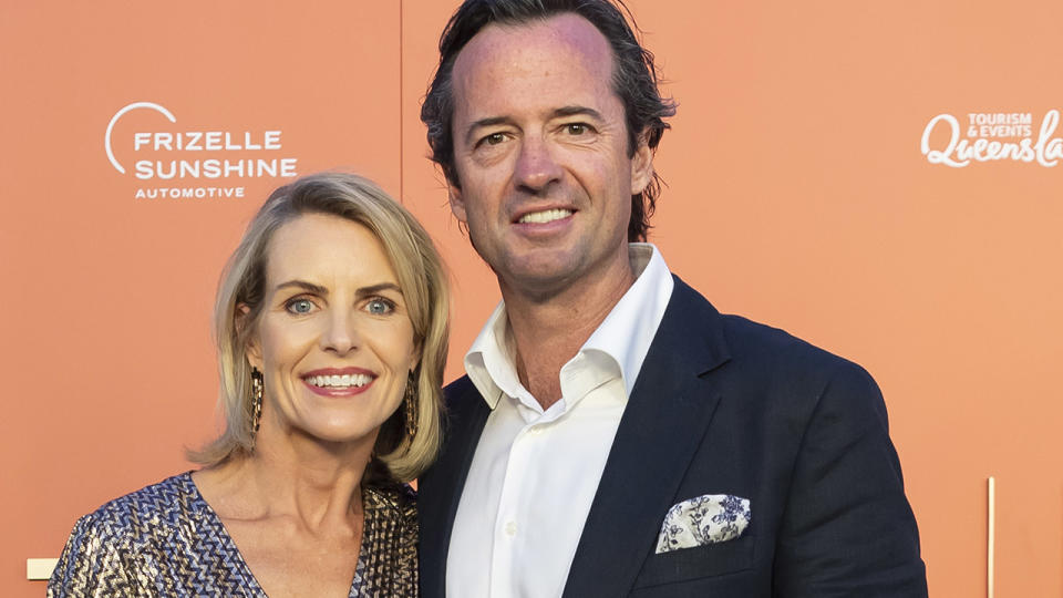 Hamish and Sophie McLachlan, pictured here at the 2020 Magic Millions Launch Party.